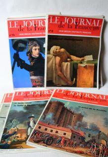 Lot de 38 revues Le journal de la France 2 siècles d'actua