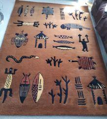 Serge LESAGE : beau tapis ethnique
