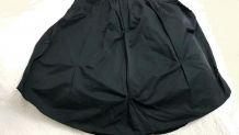 Robe longue à fines bretelles  coloris noirT 38/40