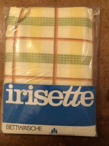 Parure de lit IRISETTE imprimé écossais
