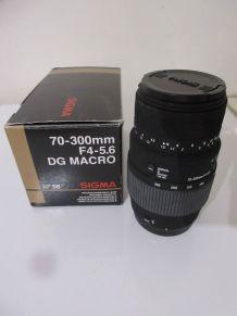 ZOOM Sigma pour CANON AF 70 - 300mm F4 - 5.6 DG MACRO