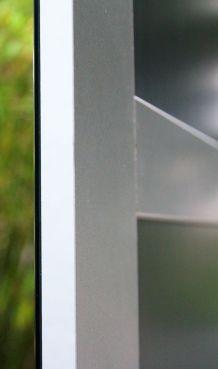 Elégant miroir carré 60 cm sur 60 cm. Neuf jamais posé.