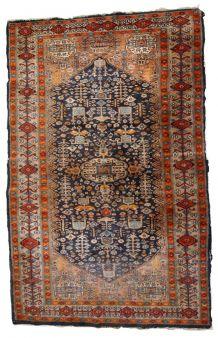 Tapis ancien Afghan Baluch fait main, 1C730