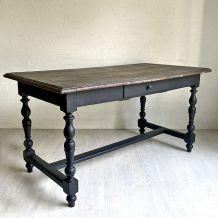 Table de ferme XIXème en chêne