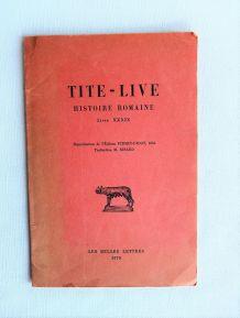 Tite Live histoire Romaine Livre XXXIX Les belles lettres 70
