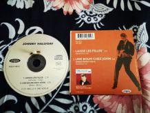 CD SP 2 titres johnny HALLYDAY