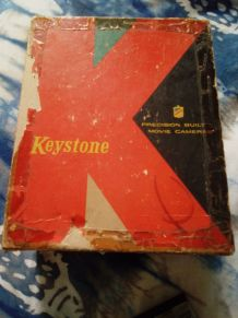 Camera ancienne Keystone et ses accessoires- USA