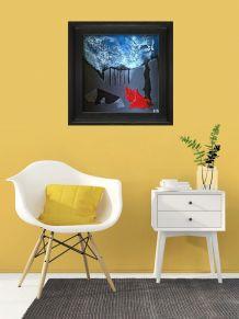 tableau peinture décoration chambre bureau