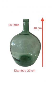 Dame-Jeanne en verre vintage 20 L