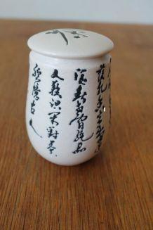 Bonbonnière céramique de Chine