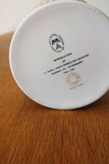 Pot cache pot porcelaine de limoges années 70