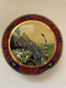 Boîte métal Roquefort Société