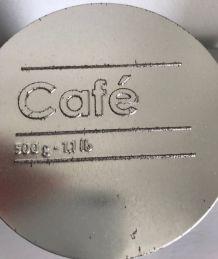 Boîte à café déco