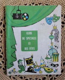 Guide du spectacle et des fêtes (catalogue) - 1974/1975