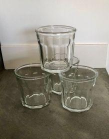 4 Pots à confiture anciens