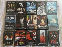 LOT 15 DVD HORREUR dont des  RARES