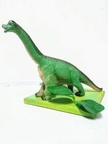 lampe dinosaure, veilleuse brachiosaure vert