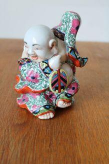 Statuette chinoise vintage céramique