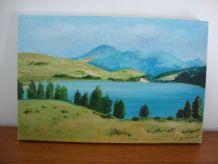 Tableau peinture à l'huile (années 90)