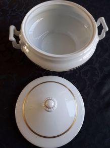 Soupière Légumier Porcelaine de Limoge France