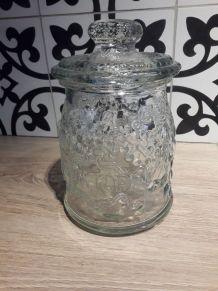 pot verre ancien