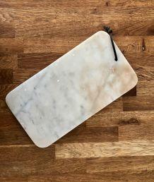 Planche à découper ancienne, en marbre P