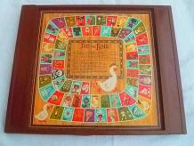 plateau de jeu de dames et de l'oie ,vintage