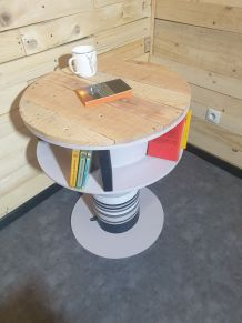 table d appoint biblioteque