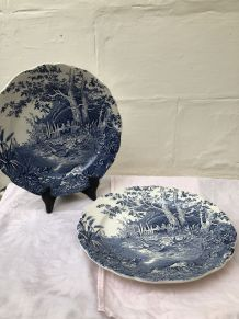 2 assiettes «English style»