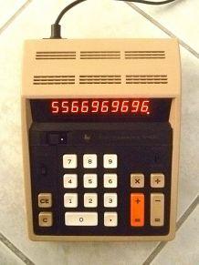 calculatrice electronique  Texas Instruments 1972