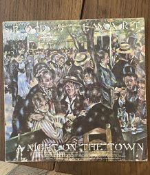 Vinyle vintage Rod Stewart - A night on the town