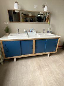 Enfilade meuble salle de bain