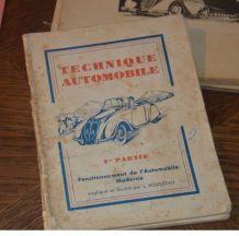lot de livret  Mecanique , electrique, vintage