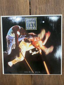 Vinyle vintage Johnny Clegg et Savuka - Shadow man