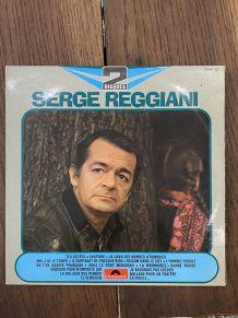 Vinyle vintage double disque de Serge Reggiani
