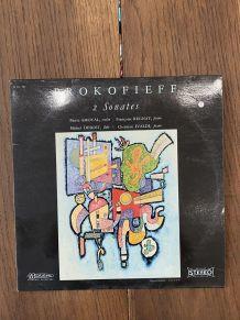 Vinyle vintage de Serge Prokofieff - 2 sonates