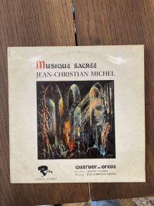Vinyle vintage Jean-Christian Michel - Musique Sacrée