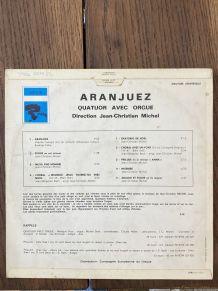 Vinyle vintage Jean-Christian Michel - Aranjuez