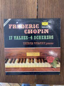 Vinyle vintage Frédéric Chopin - 17 valses et 4 scherzos