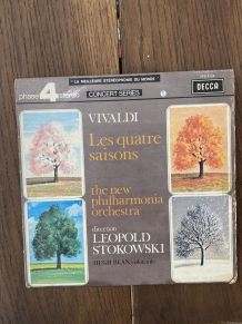 Vinyle vintage Vivaldi - Les quatre saisons