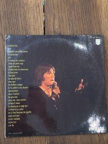Vinyle vintage double disque Serge Lama à l'Olympia