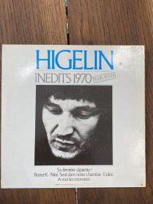 Vinyle vintage Jacques Higelin - Inédits 1970