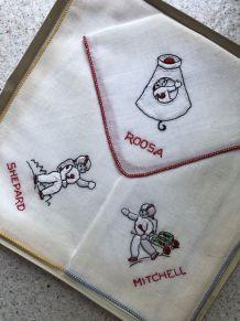 Collector : mouchoirs Apollo 14