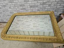 grand miroir louis philippe dore 103x74 d autre  photos disp