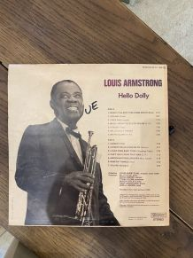 Vinyle vintage Louis Armstrong - Hello Dolly