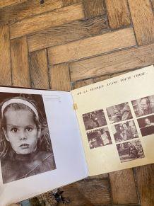 Vinyle vintage double disque Leo Ferré - Verlaine et Rimbaud