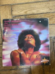 Vinyle vintage Barry Marshall plays Barry White hits