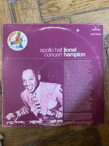 Vinyle vintage Lionel Hampton - Apollo Hall Concert