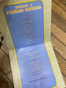 Vinyle vintage double disque Hommage à Fernand Raynaud