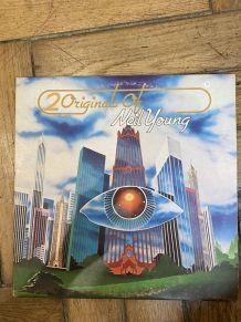 Vinyle vintage double disque Neil Young